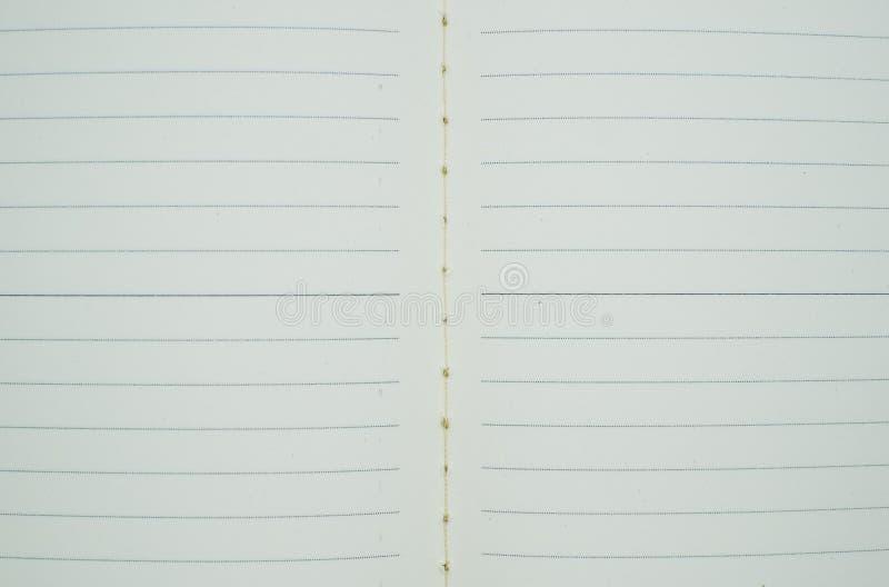 Foto sgualcita allineata di immagine di sfondo del Libro Bianco fotografia stock libera da diritti