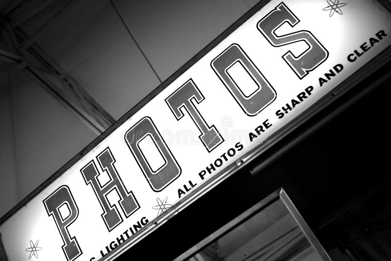 Foto-Stand lizenzfreies stockfoto