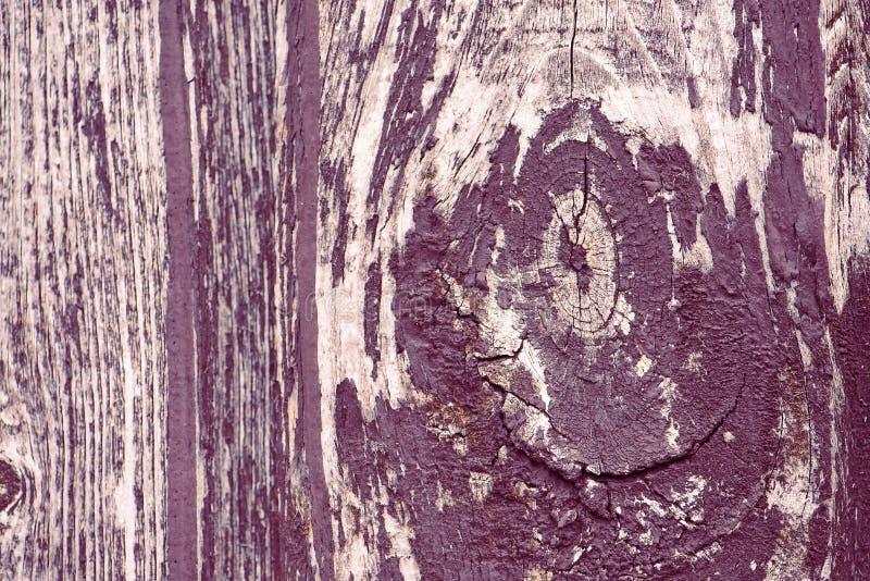 Foto strutturata di legno della plancia del recinto corteccia rustica di marrone della vecchia Immagine di sfondo astratta Tonid  fotografia stock