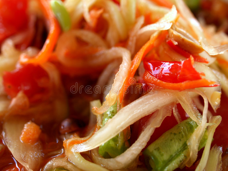 Foto tailandesa 03 del alimento fotografía de archivo libre de regalías
