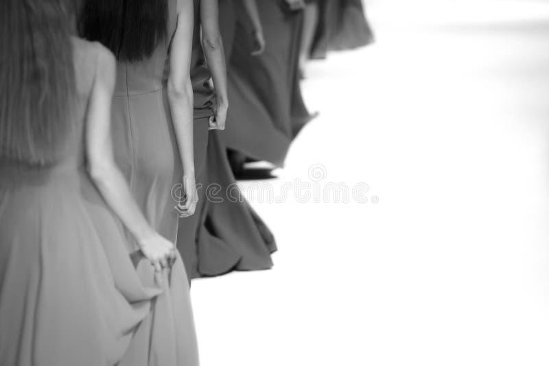 Foto temático do desfile de moda imagem de stock