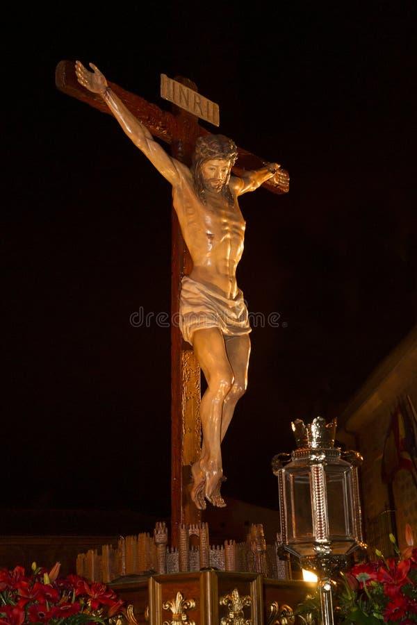 Semana Santa en Ávila (España) imagenes de archivo
