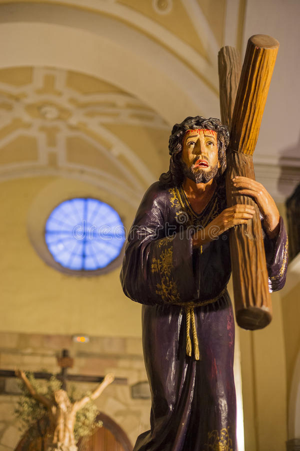Semana Santa en Ávila (España) foto de archivo