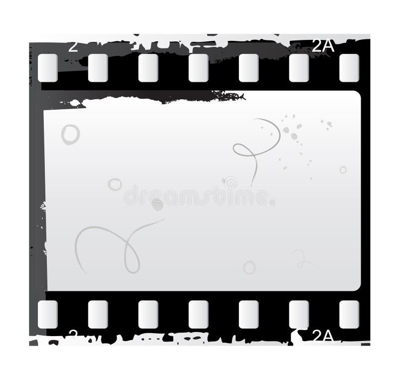 Foto- und Videofilmvektor lizenzfreie abbildung