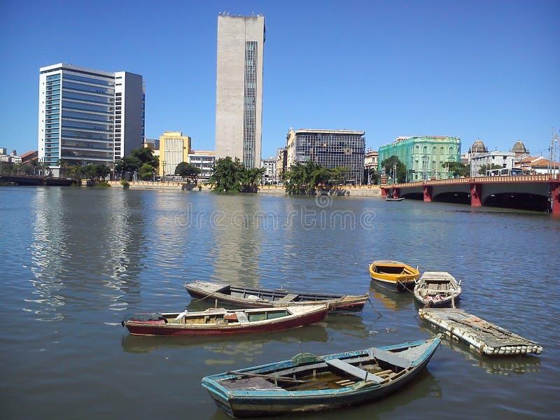 Foto van de stad van Recife in Pernambuco Brazilië royalty-vrije stock foto