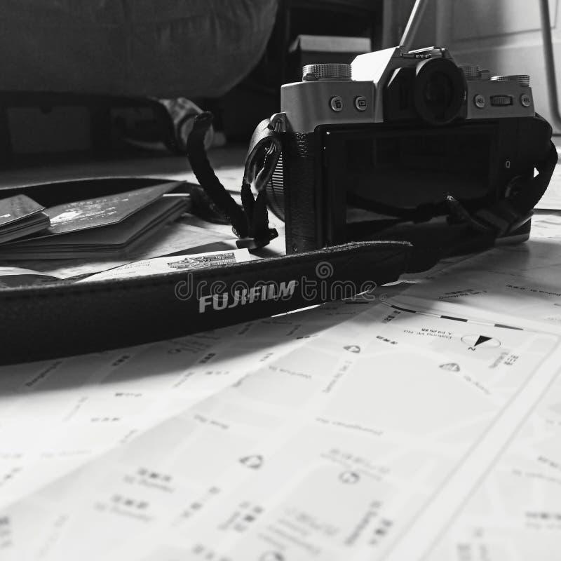 Foto van een Fujifilm x-T20 stock foto's