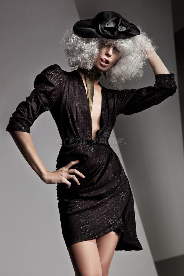 Foto van een mooie vrouw royalty-vrije stock afbeelding