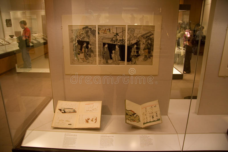 Het exhibitions_Japan art. van British Museum royalty-vrije stock afbeelding