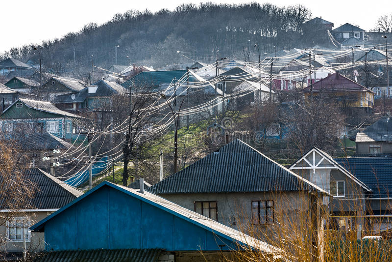 Foto van het landschap van het land royalty-vrije stock afbeeldingen