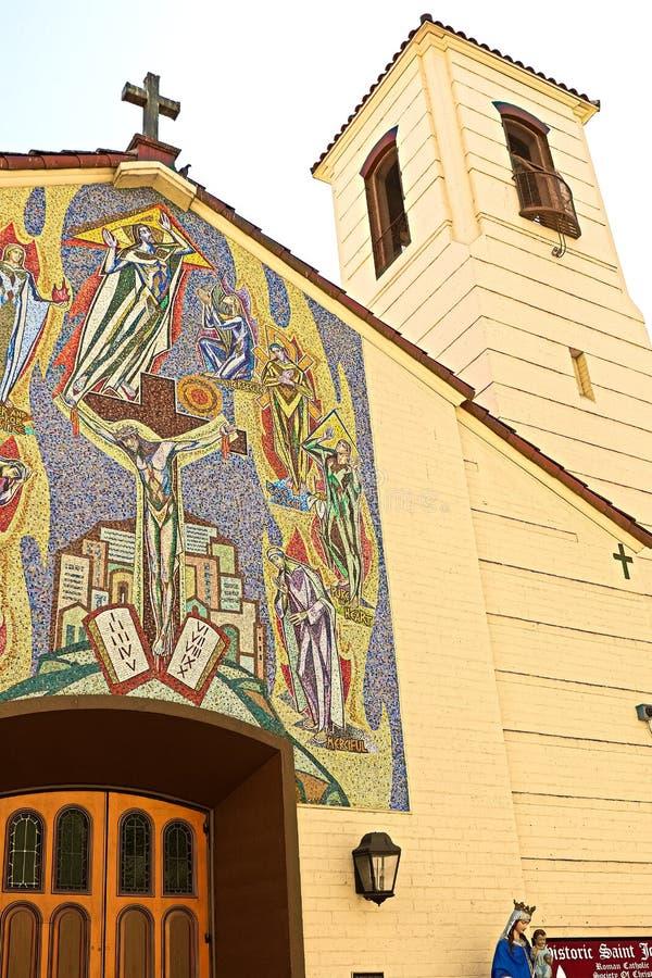 Foto van Kerk van St Joan van Boog royalty-vrije stock afbeelding