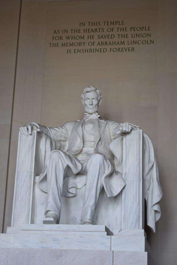 Foto van Lincoln Memorial stock foto