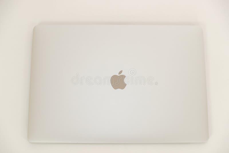 Foto van MacBook Pro MacBook Pro Retina door Apple Inc wordt gemaakt dat royalty-vrije stock afbeelding