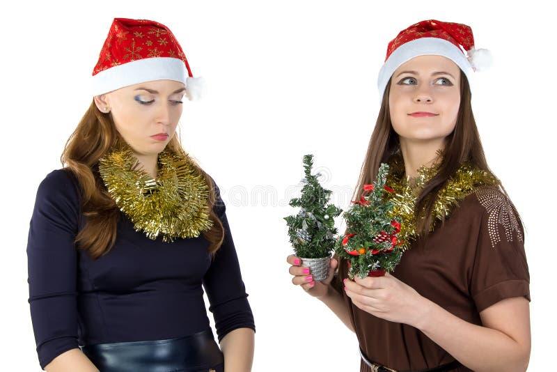 Foto van onbillijkheid in Kerstmisdag stock fotografie