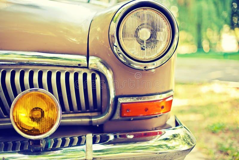 Foto van retro auto stock afbeelding