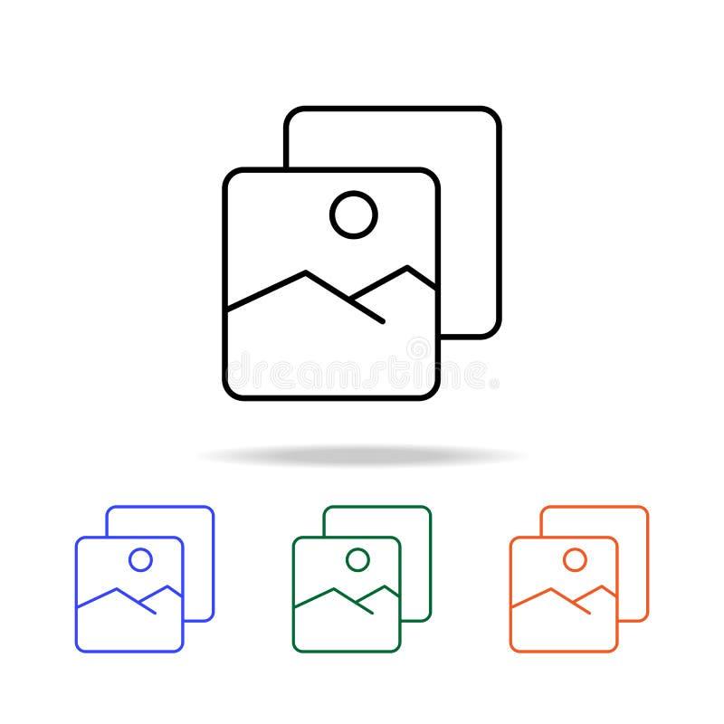 foto van rust pictogram Elementen van eenvoudig Webpictogram in multikleur Grafisch het ontwerppictogram van de premiekwaliteit E vector illustratie