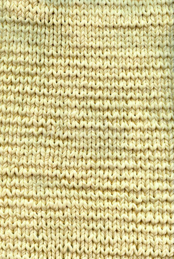 Foto van textuur van het breien van met de hand gemaakte deken stock afbeeldingen