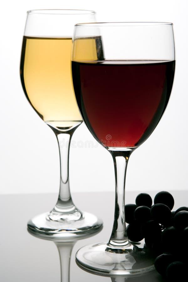 Foto van wijnglas royalty-vrije stock foto's