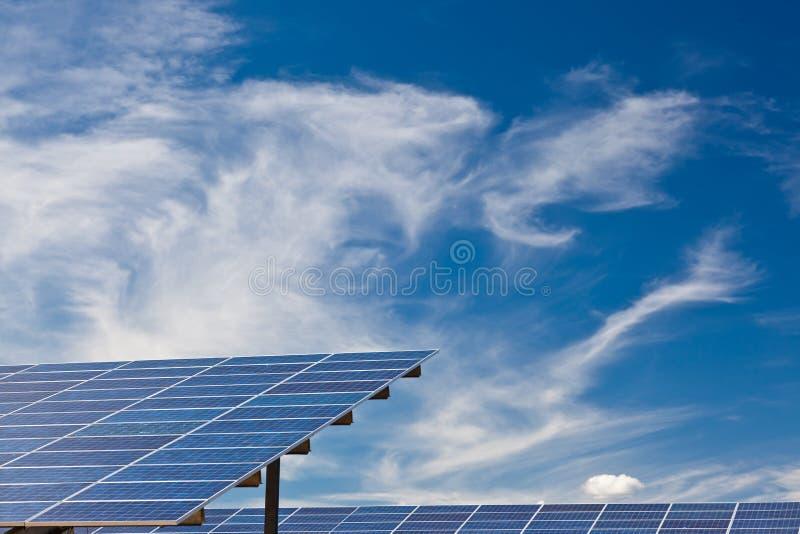 Foto-voltaische Panels stockfotografie