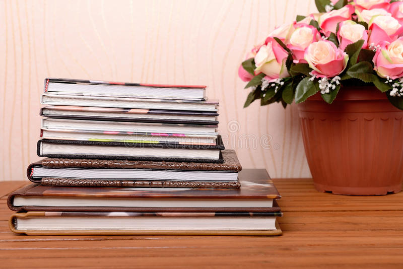 Fotobüchervorratfoto lizenzfreies stockbild