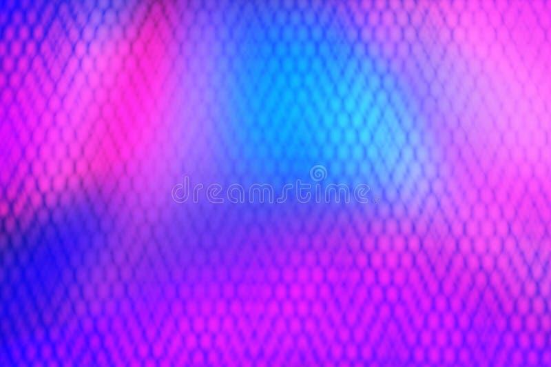 Fotobildbakgrund Ultravioletta, blåa, rosa purpurfärgade färger gjorde suddig abstrakt med ljus bakgrund Ultraviolett purpurfärga royaltyfri illustrationer