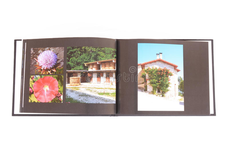 Fotobok arkivbilder