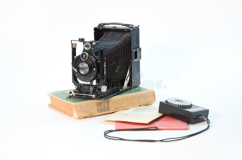 Fotocamera 1930 royalty-vrije stock foto's