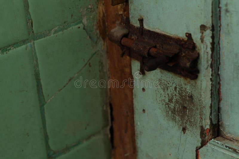 Fotoet av låser, i badrummet, version 2 royaltyfria bilder