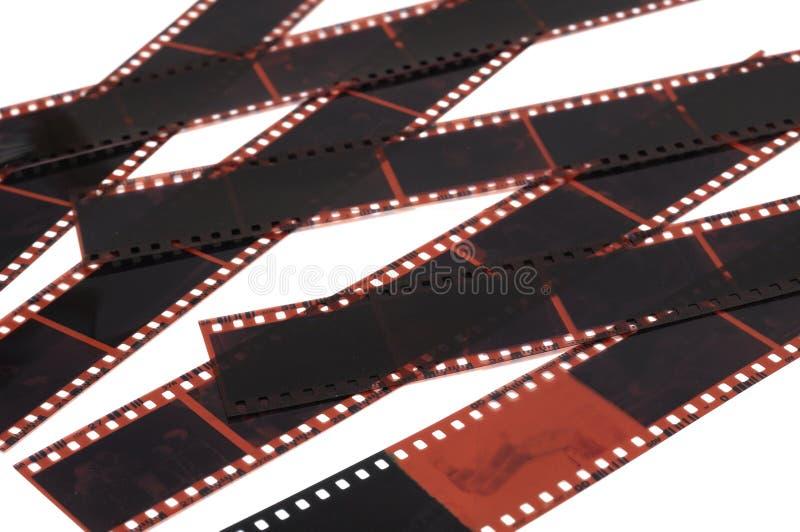 Fotofilmnegationer royaltyfria foton