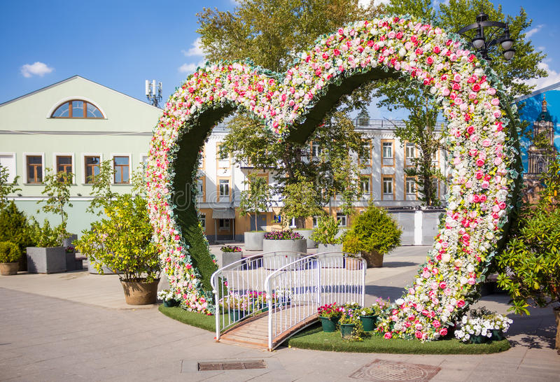 Fotofläck på den Pyatnitskaya gatan nära Novokuznetskaya tunnelbanasta royaltyfria foton