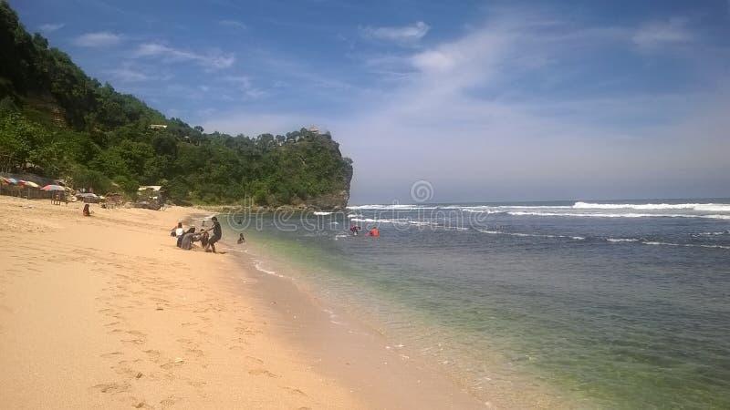 Fotogênico, fotográfico, fundo, natureza, praia, paraíso perdeu, indonésio foto de stock royalty free