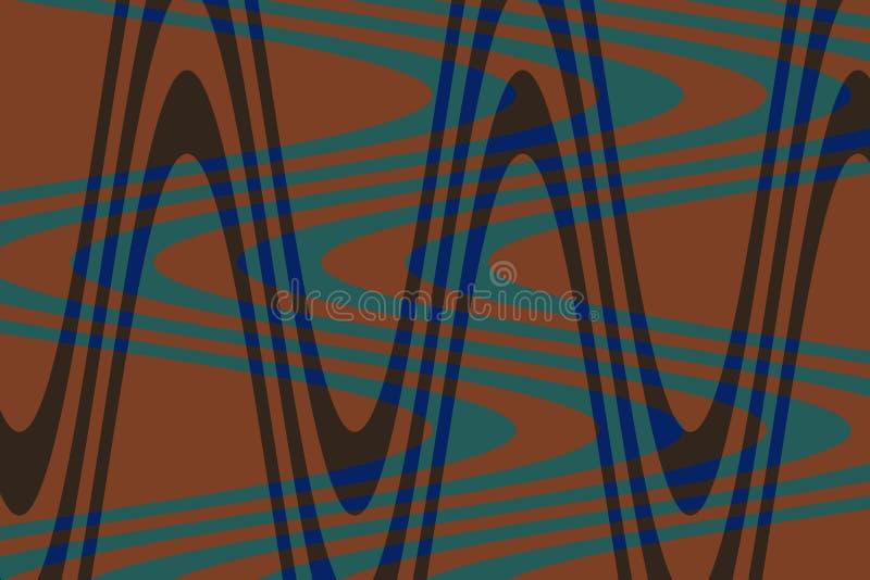 Fotogolf van blauwe, donkere kleuren! Unieke, uitzonderlijke, buitengewone, opmerkelijke, verbazende, opmerkelijke achtergrond! royalty-vrije illustratie