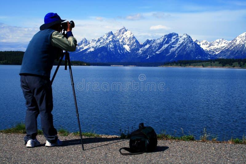Fotograaf 2 van de fotograaf stock afbeelding