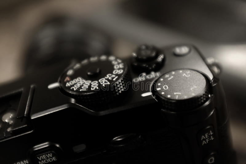 Fotografía de la marcación rápida del obturador de cámara del vintage fotos de archivo libres de regalías