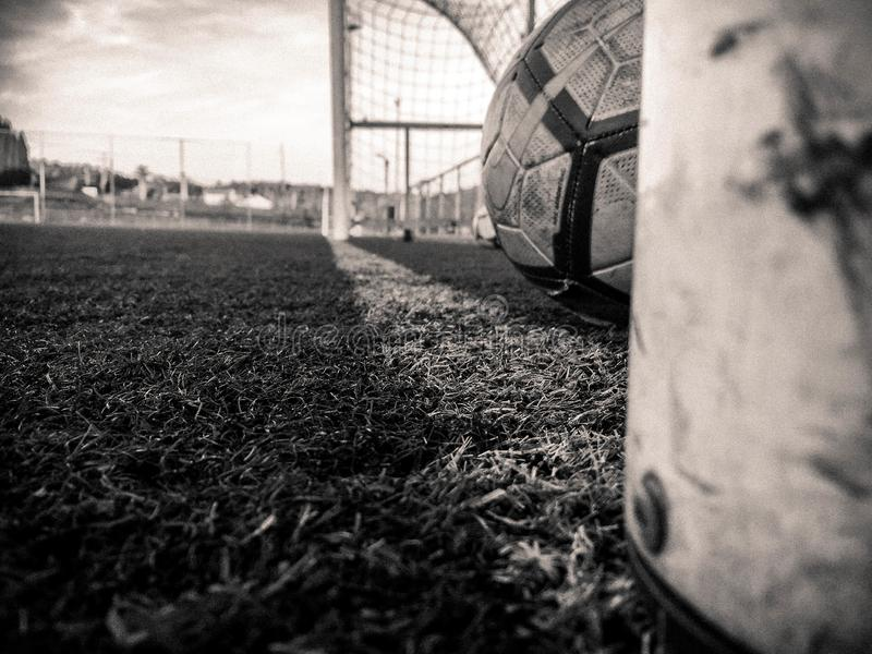Fotografía de los deportes - imagen del fútbol fotos de archivo