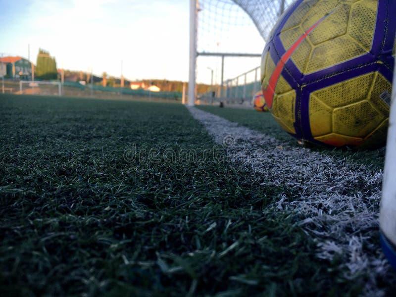 Fotografía de los deportes - imagen del fútbol imágenes de archivo libres de regalías