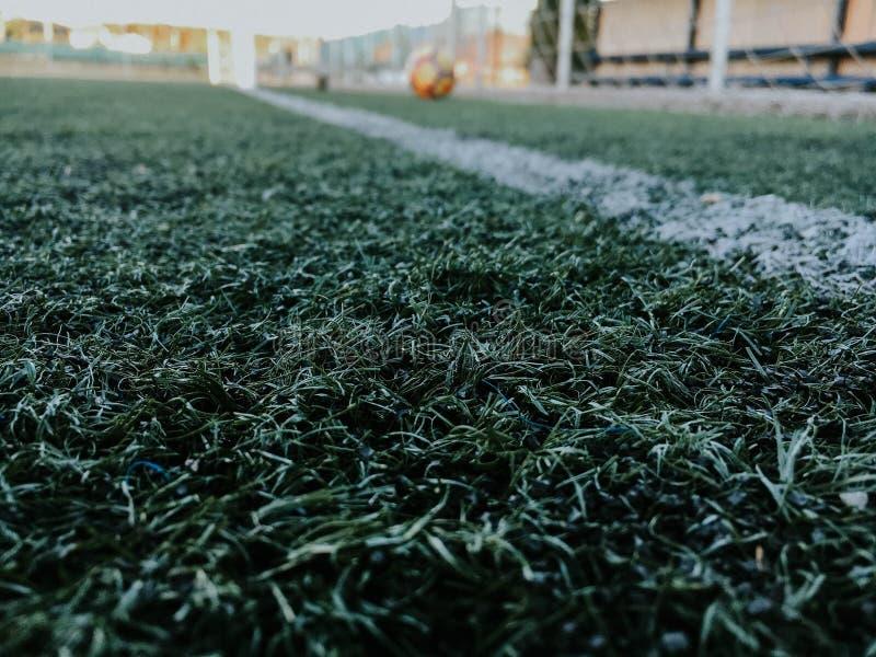 Fotografía de los deportes - imagen del fútbol foto de archivo