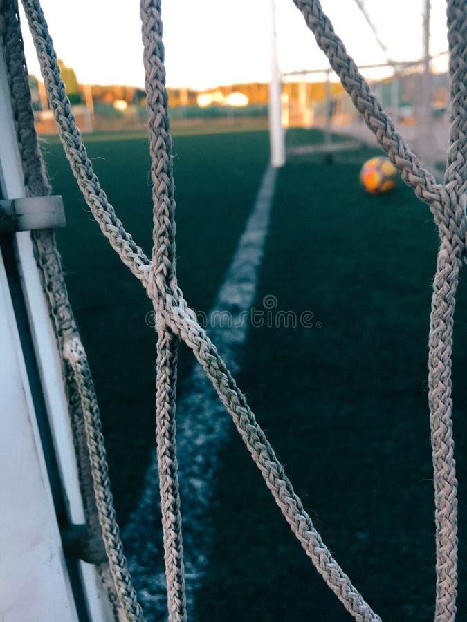 Fotografía de los deportes - imagen del fútbol fotografía de archivo libre de regalías