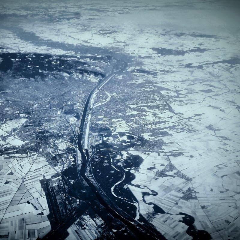 Fotografía del aire imagenes de archivo
