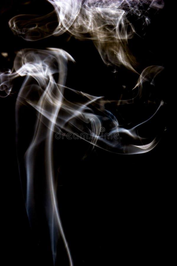 Fotografía del arte del humo fotografía de archivo libre de regalías