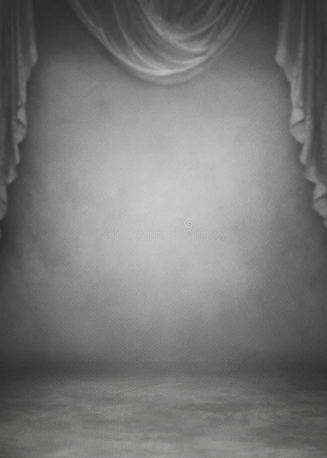 Fotografía del estudio del fondo del contexto de la foto ilustración del vector