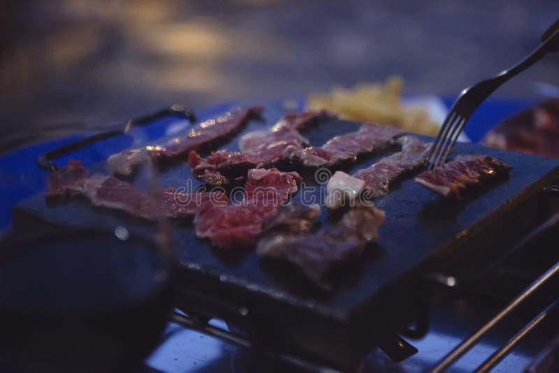 Fotografía del producto para asar a la parilla la comida fotografía de archivo libre de regalías