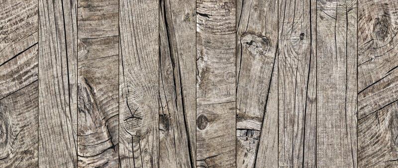 Fotografía del viejo detalle anudado agrietado resistido de la textura del grunge de los entarimados de madera de pino imágenes de archivo libres de regalías