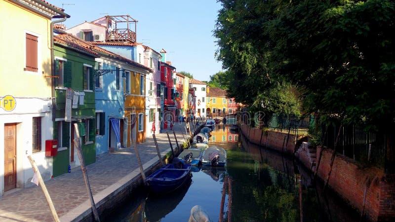 Fotografías de un paseo en Venecia imagen de archivo