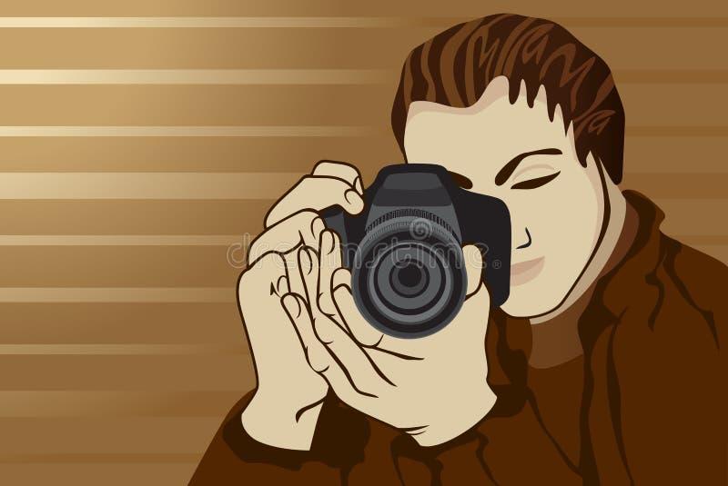 fotograf ilustracja wektor