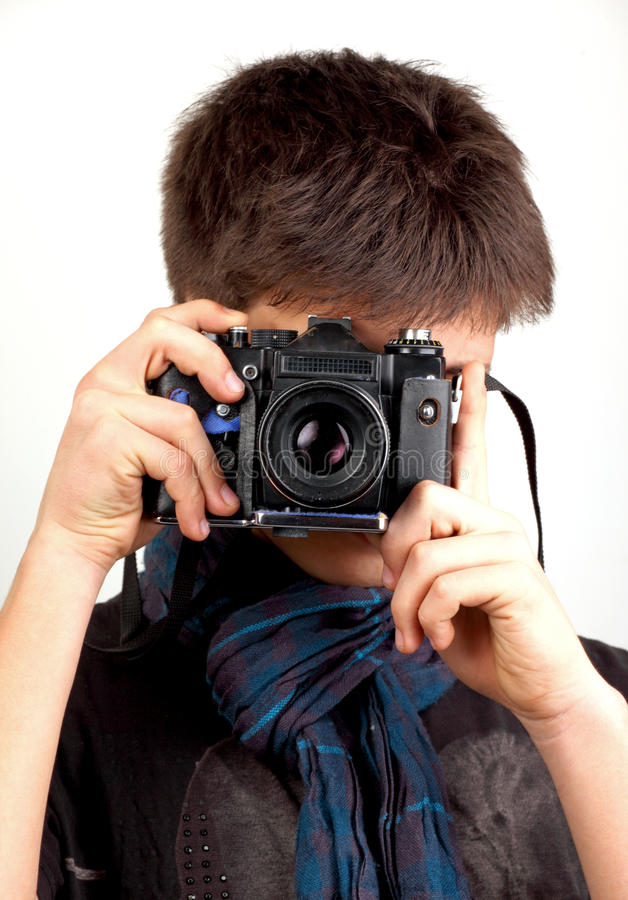 Fotograf stockfoto