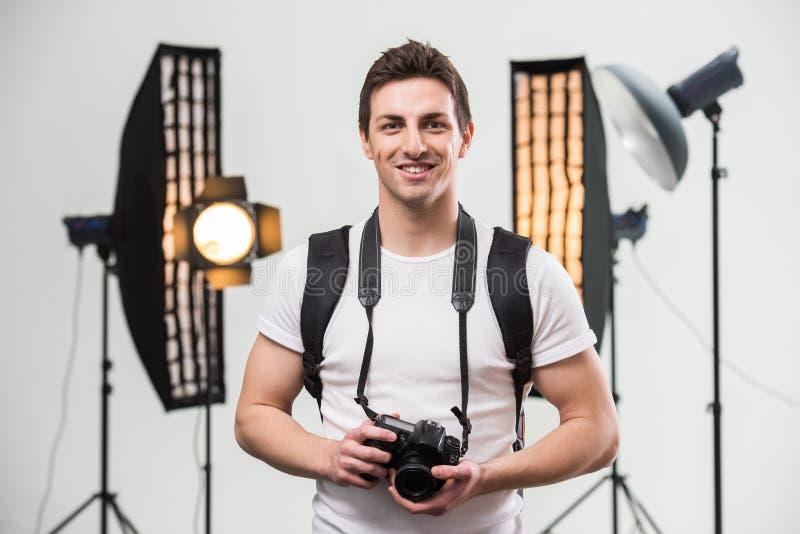 fotograf fotografering för bildbyråer