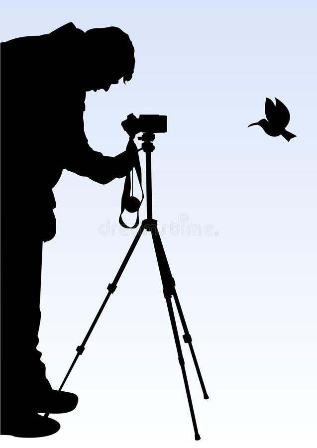 fotograf royalty ilustracja