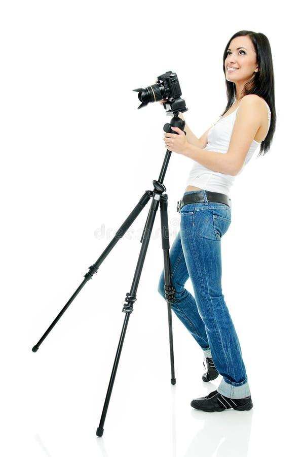 fotograf dosyć fotografia stock