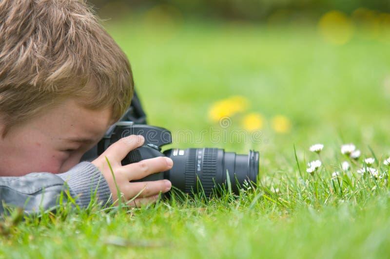 fotografbarn arkivfoton