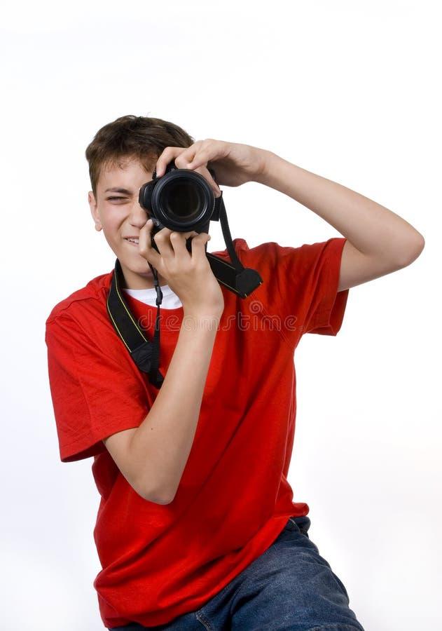 fotografbarn royaltyfri foto